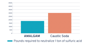 AMALGAM-60 vs Caustic Soda